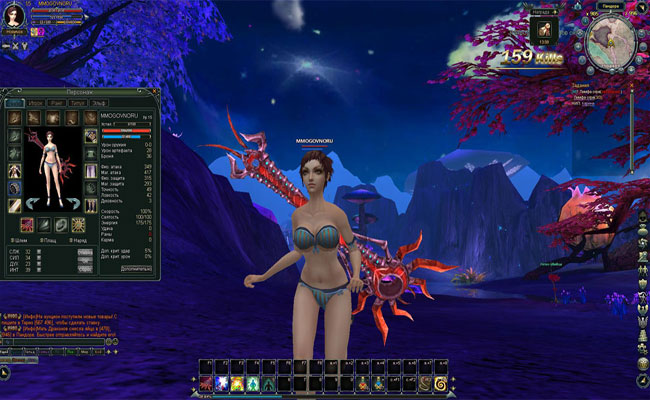 MMO игра Blood and Soul