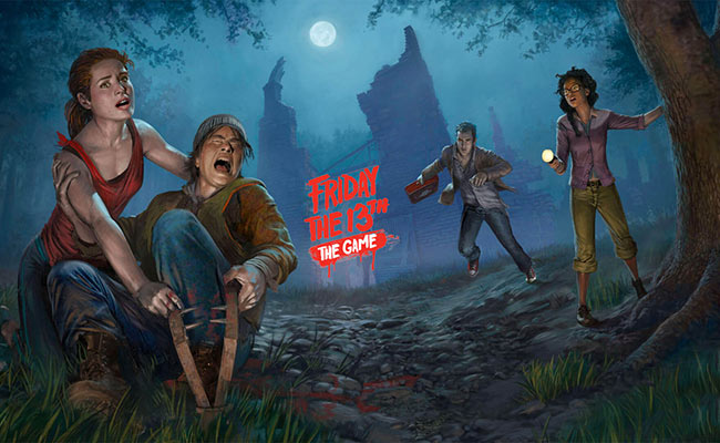 Игра про маньяка Friday the 13th: The Game