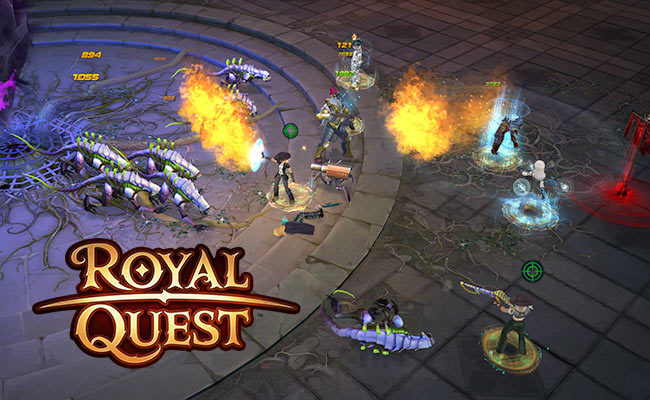MMORPG Royal Quest
