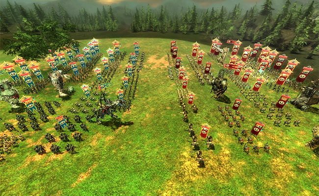 MMORTS World of Battles